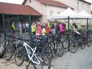 De nombreux vélos étaient au RDV