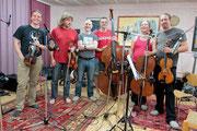 mit Wiff und Spring String Quartett im Studio