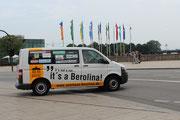 Berolina sei Dank--Das Begleitfahrzeug wurde von Susanne und Shari gefahren.Danke auch an Anni