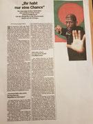 Zeitungsbericht Süddeutsche Zeitung 2