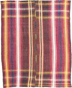 28.  Ghasghai Kelim Südwestpersien 1. Hälfte 20. Jahrhundert 251 x 201 cm