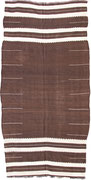 18.  Kelim,  Ait Ouaouzgite,  Siroua Gebirge,  Hoher Atlas,  3. Viertel 20. Jahrhundert,  271x 137cm