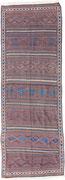 38. Belutsch Kelim, Khorasan,  Nordostpersien,  um 1900,  368 x 126 cm