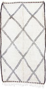 5. Berberteppich, Mittlerer Atlas, Beni Ouarain, 3. Viertel 20. Jahrhundert, 320 x 178 cm