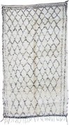 7. Berberteppich,  Mittlerer Atlas, Beni Ouarain,  4. Viertel 20. Jahrhundert, 302 x 172 cm SOLD