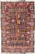 5. War rug, Taymani/ Westafghanistan, 205 x 134 cm, ca. 1980/90