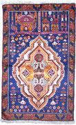 9. War rug, Taymani / Westafghanistan, ca. 1980/90, 141 x 88 cm