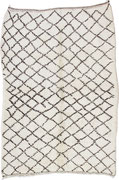 6. Berberteppich, Mittlerer Atlas, Beni Ouarain, 4. Viertel 20. Jahrhundert,  227 x 158 cm SOLD