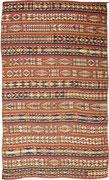 24. Gadhari Kelim, Usbekisch, Ende 19tes. Jahrhundert, 322 x 196 cm