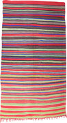 35.  Kelim Marokko,  4. Viertel 20. Jahrhundert,  377 x 169 cm