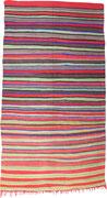 25.  Kelim Marokko,  4. Viertel 20. Jahrhundert,  377 x 169 cm