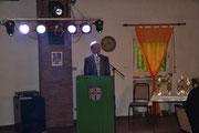 2012: Begrüßung durch Gruppenleiter Bernd Deuter