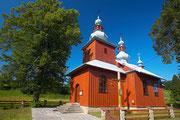 Cerkiew grekokatolicka fot. Kamil Bańkowski www.irart.pl