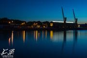 Rouen - La senna di sera