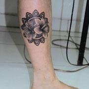 réalisé par Ginger Pepper chez Lucky30 tattoo Nimes