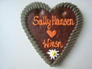 Sally Hansen Lebkuchenherz Größe 18 x 19 cm | ca. 125 Gramm