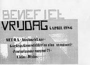 Zowiso - Wolters Noordhoff Complex - Groningen - 1986 (unknown gig)!