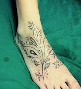 Blumen Tattoo Greifswald