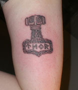 Thors Hammer Tattoo Greifswald