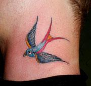 Schwalbe Tattoo Greifswald