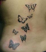 Tätowierung Schmetterling