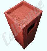 Kratzturm Large Pure Edge true red top/front7rechts