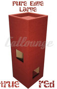 Kratzturm Large Pure Edge true red links/front