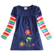 Kleidchen bestickt, mit Taschen, 14,95 €