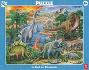 XXL-Rahmenpuzzle 4,95 €, Motive: Dino, Pferde, Feuerwehr, Baustelle, Tiere & Bauernhof