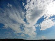 Der Wolkenausbruch
