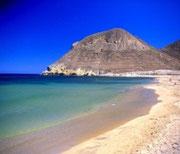 Une des plages de Mojacar