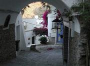 Une de rues typiques de Mojacar