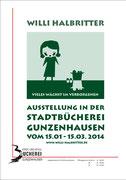 Ausstellung in Gunzenhausen von 15. Januar bis 15. März