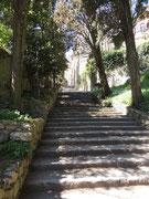 Treppe zur Stadt