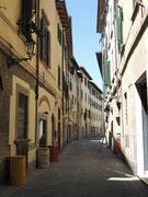 Eine Gasse in Prato