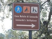 Zum Geburtshaus Leonardo da Vinci