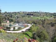 San Gimignano und Stellplatz