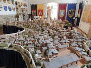 Terracotta-Modell von San Gimignano