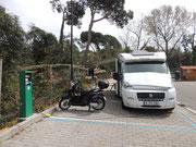 Stellplatz in Lido di Camaiore