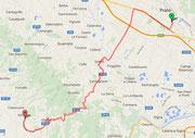 Route nach Vinci
