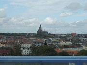 Stralsund von der Rügenbrücke fotografiert