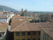 Blick über die Dächer von Prato
