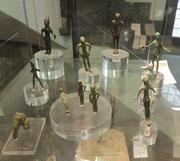 Fundstücke im archäologischen Museum