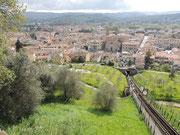 Blick von der Altstadt Certaldo Alto