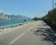 Am Gardasee entlang