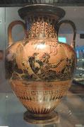 im Archäologischen Museum von Castellina in Chianti