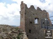 Die Burg von Campiglia