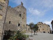 Die Burg (Rocca Comunale) von Castellina