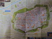 Übersichtsplan von Lucca
