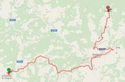 Route nach Volpaia